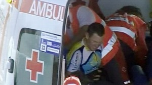 VIDEO: Armstrong Injury Will Test Tour Ride