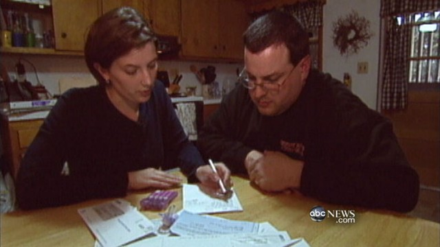 Families tackle financial problems in face of U.S. credit rating uncertainty.
