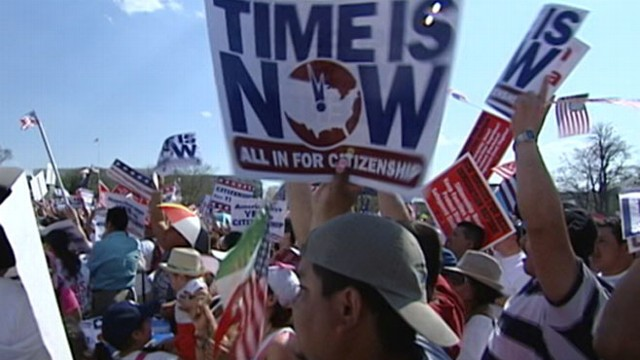 VIDEO:Immigration reform may lead to citizenship for 11 million people.