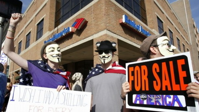 VIDEO: Customers plan to move their money in protest of new banking fees.