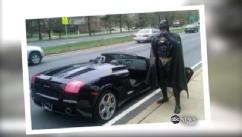 Lenny B. Robinson dresses up as a superhero for childrens hospital.
