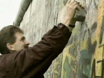 VIDEO: Berlin Wall torn down 20 years ago