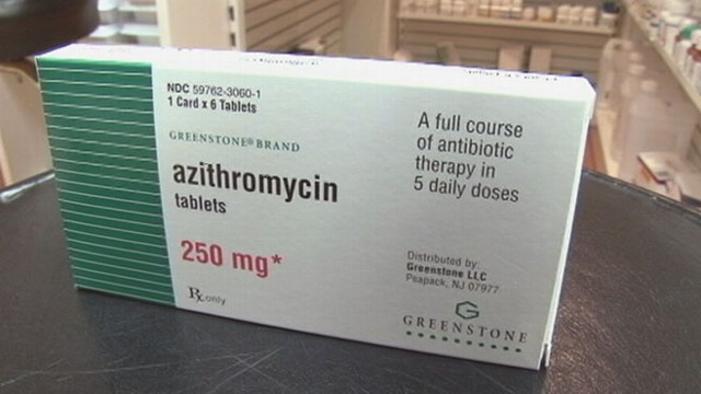 VIDEO: Dr. Richard Besser reports a possible concern over a very popular antibiotic.