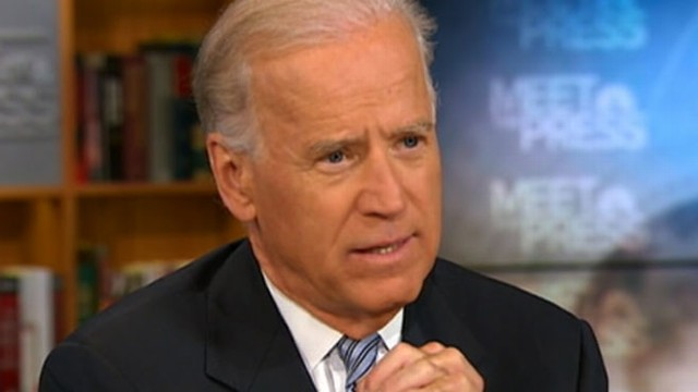 VIDEO: The vice president made it very clear that he has no problems with gay marriage.
