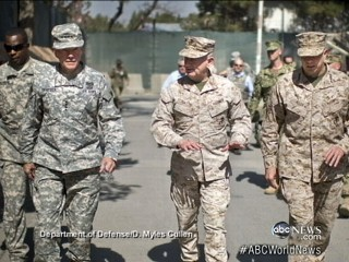 Watch: U.S. Top General Tries to Calm Troops in Afghanistan