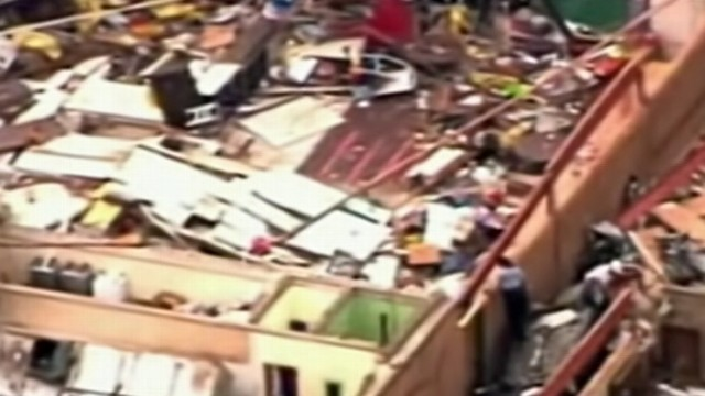 Video: Aftermath of the Oklahoma Tornado