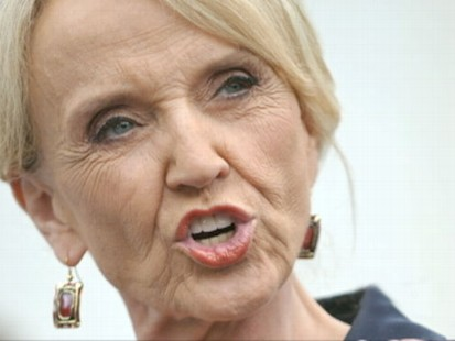 VIDEO: Arizonas Governor Jan Brewer takes on protestors and the Obama administration.