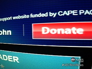 Watch: Misleading Campaign Websites Take Donor Cash