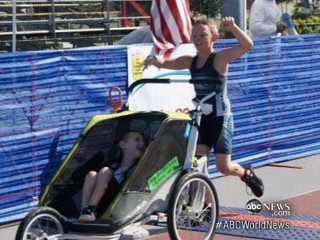 Watch: Boy With Cerebral Palsy Competes in Triathlon