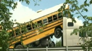 VIDEO: A band camp field trip turns tragic when two buses collide.