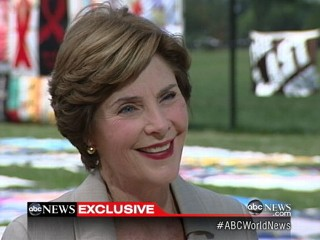 Watch: Laura Bush Interview: The Fight Against AIDS