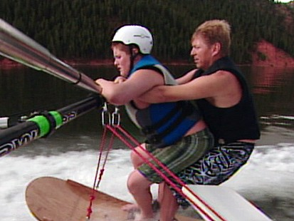 VIDEO: Challenged Kids Are Challenged at Camp