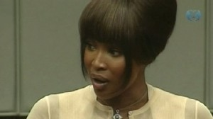 VIDEO: The supermodel takes the stand in an international war crimes trial.