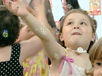 VIDEO: School Helps Kids With Cancer Focus on Play