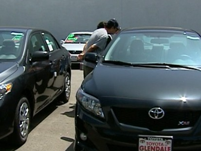 VIDEO: Cash for Clunkers increases car sales