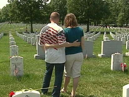 VIDEO: Section 60 of Arlington National Cemetary