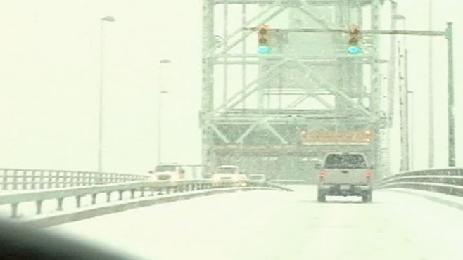 VIDEO: States usually spared from winter weather are slammed by a powerful storm.