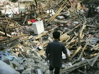 VIDEO: China Hit by Earthquake