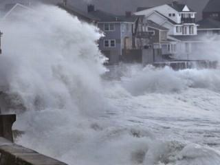 Watch: Winter Storm Hammers Sandy-Ravaged Areas