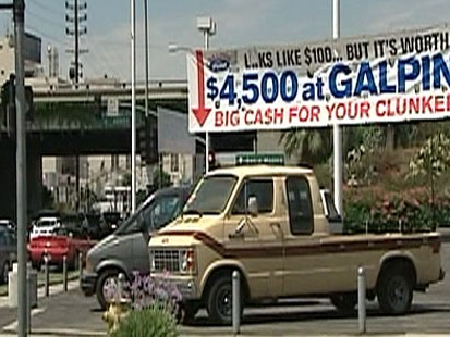 Cash for Clunkers Dealership