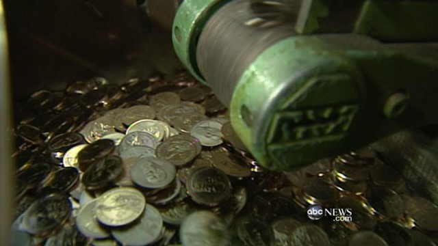 VIDEO: U.S. could save taxpayers money by replacing paper dollar with coins.
