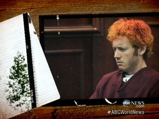 Watch: James Holmes' Notebook Reveals Shooting Plans?