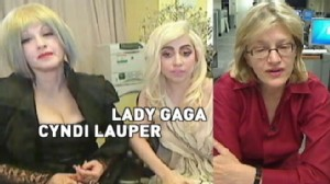 VIDEO: Diane Sawyer chats with Lady Gaga and Cyndi Lauper.