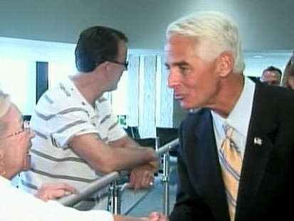 VIDEO: Charlie Crist May Leave the Republican Party
