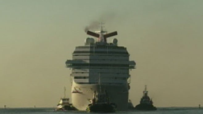 VIDEO: Cruise Ship Nightmare