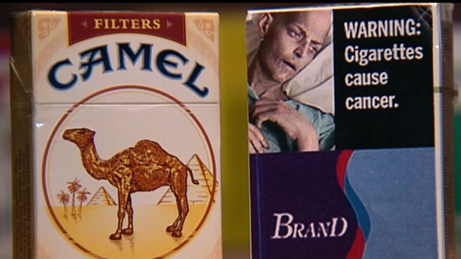 VIDEO: Graphic labels are planned for cigarette packs as a smoking deterrent.