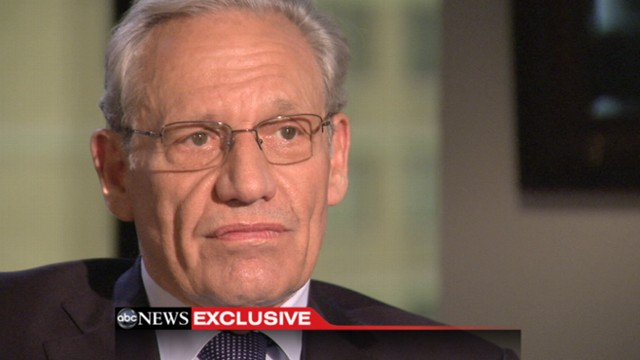 VIDEO: Author Bob Woodward talk to Diane Sawyer about his new book in an ABC News exclusive.