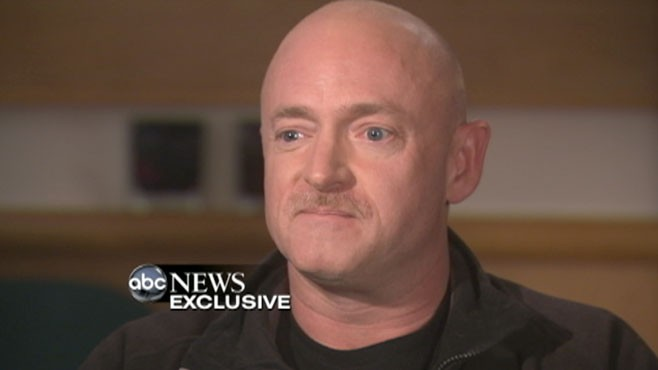 VIDEO: Mark Kelly on his wife, Gabrielle Giffords Condition