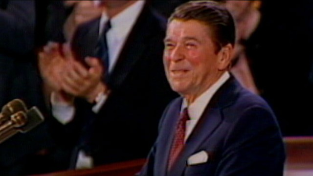 VIDEO: John Donvan looks at spontaneous moments from past presidents speeches.