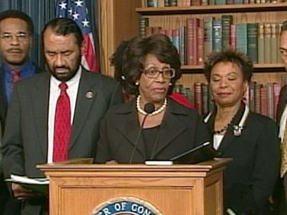 VIDEO: Maxine Waters is charged with ethics violations shortly after Charlie Rangel.