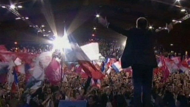 VIDEO: French President Sarkozy loses election; Greek austerity plan in jeopardy.