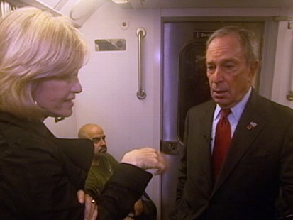 VIDEO: Mayor Bloomberg Talks With Diane