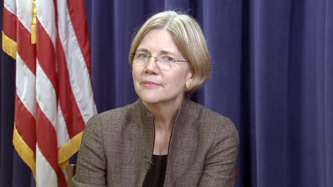 VIDEO: Diane Sawyer talks to Elizabeth Warren about her new White House job.