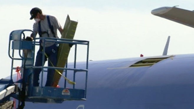 VIDEO: After a passenger jet ripped open in the sky, officials re-evaluate Boeings 737.