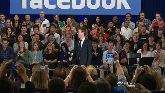 VIDEO: Founder Mark Zuckerberg to mount one of the largest IPOs in history.