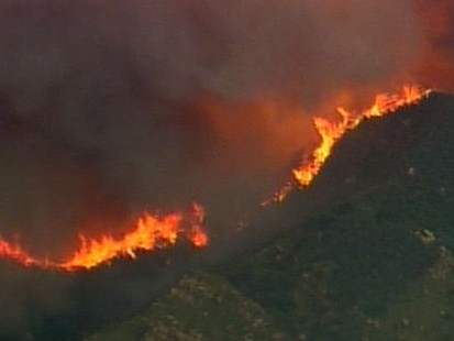 VIDEO: Santa Barbaras state of wildfire emergency