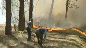 VIDEO: A combination of record heat and wildfires is making it hard to breathe.