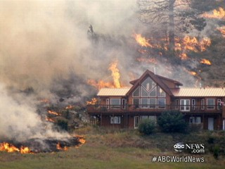 Watch: Washington House Miraculously Escapes Wildfire