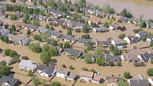 VIDEO: Flooding in the southeast is receding, but the damage is done.