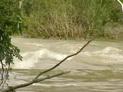 VIDEO: In five hours waters rose 20 feet in the Albert Pike Recreation area.