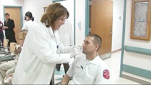 VIDEO: The largest flu vaccination campaign in American history launches.
