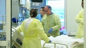 VIDEO: H1N1 flu cases could flood hospital ICUs