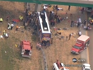 Full Episode: World News: Megabus Crashes Into Illinois Highway Overpass