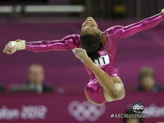 Watch: Gabby Douglas Wins Gymnastics Gold Medal