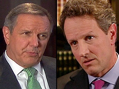 VIDEO: Geithner Defends Standard for Auto Industry