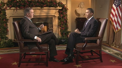VIDEO: Charles Gibson interviews President Obama.